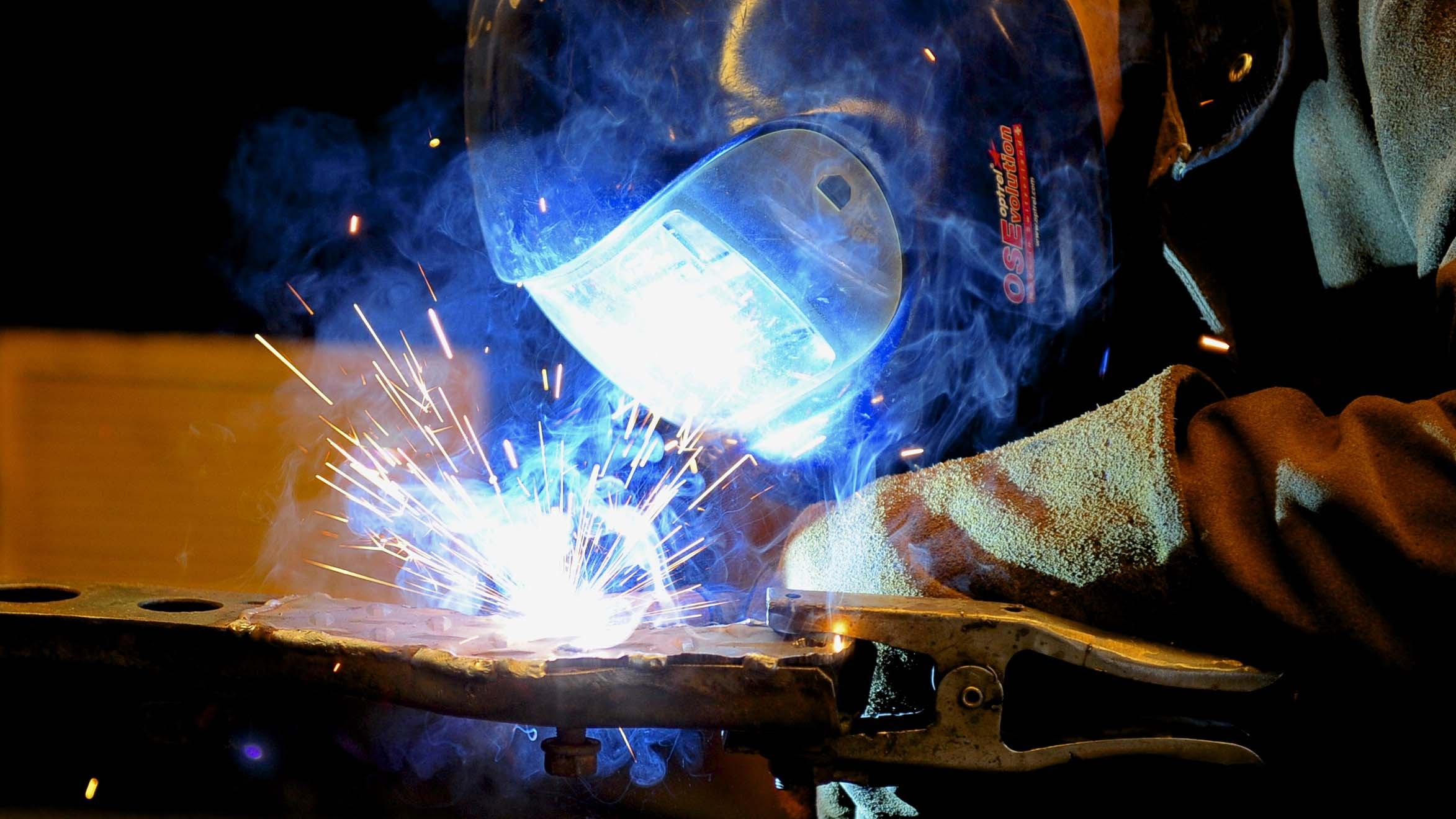Welding specialists at Ace Hydraulics