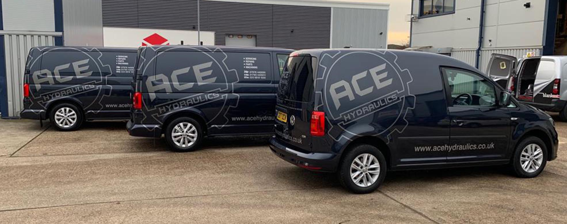 Ace Hydraulic Fleet Vans